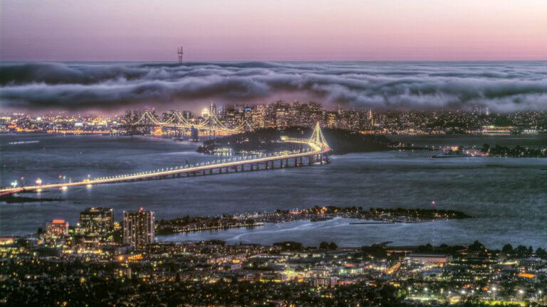 San Francisco seen from Berkeley' Grizzly Peak